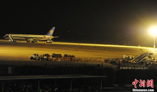 10月8日从乌鲁木齐飞往北京的客机南航cz680航班
