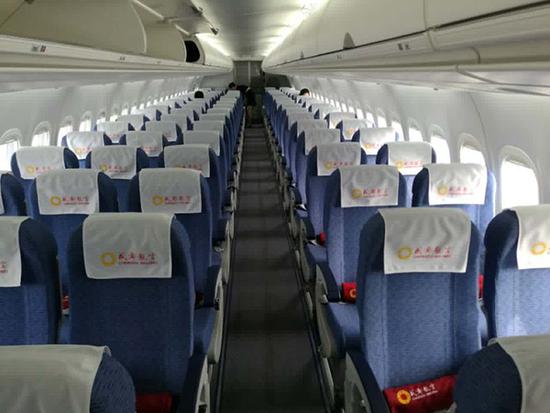 国产arj21飞机今天首航:载70名乘客从成都飞上海