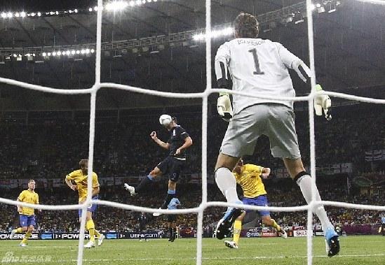 欧洲杯 法国2 0乌克兰 英格兰3 2瑞典