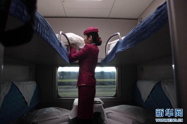 北京即将开行至广州,深圳高铁动卧列车